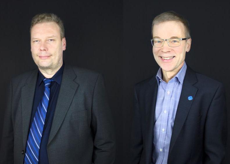 Juha Myllyoja ja Klaus Roitto-7-5