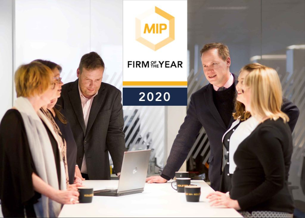 MIP Firm of the Year 2020_Kolster