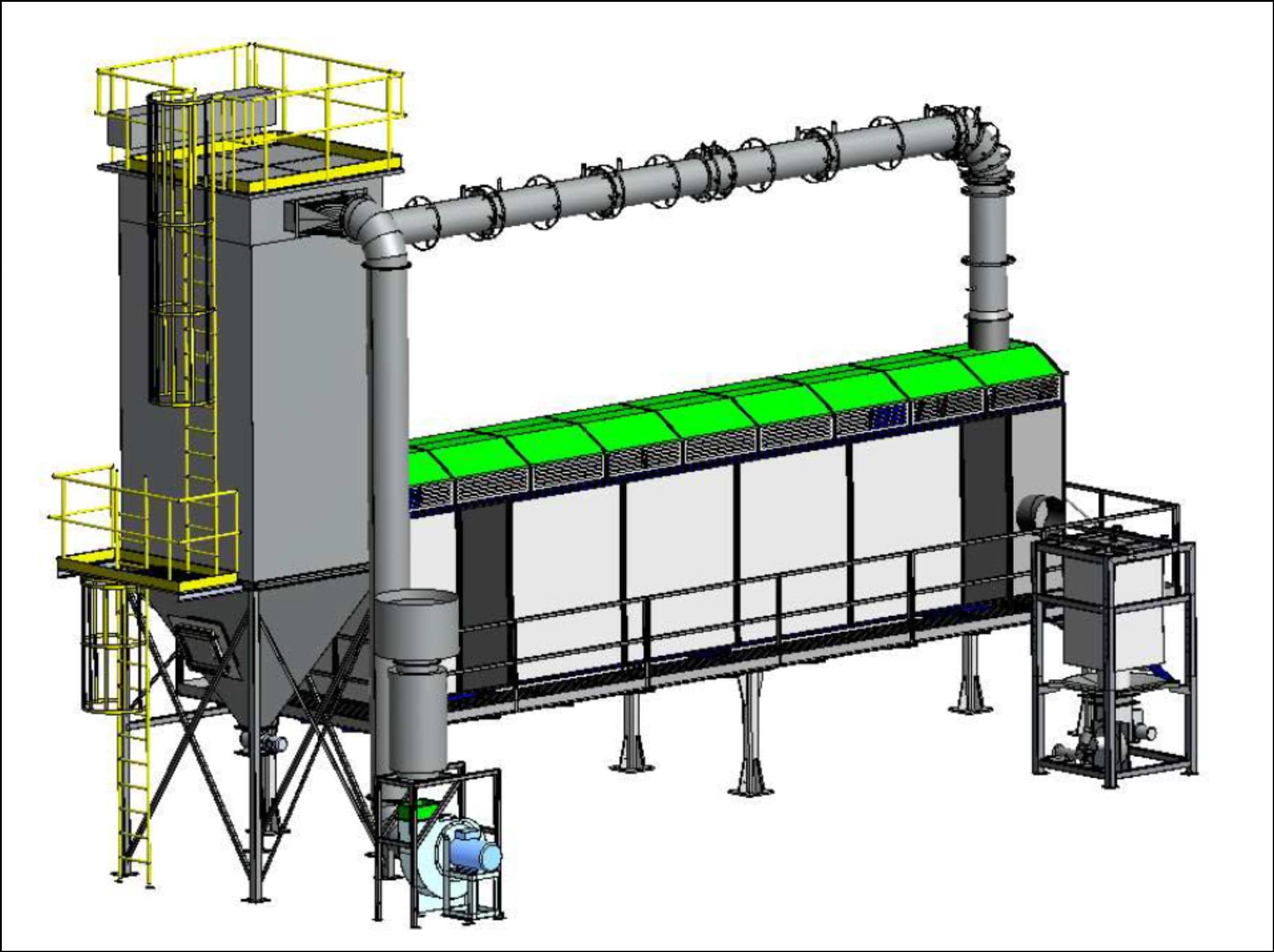 Finn Recycling_New modular sand reclaimer unit