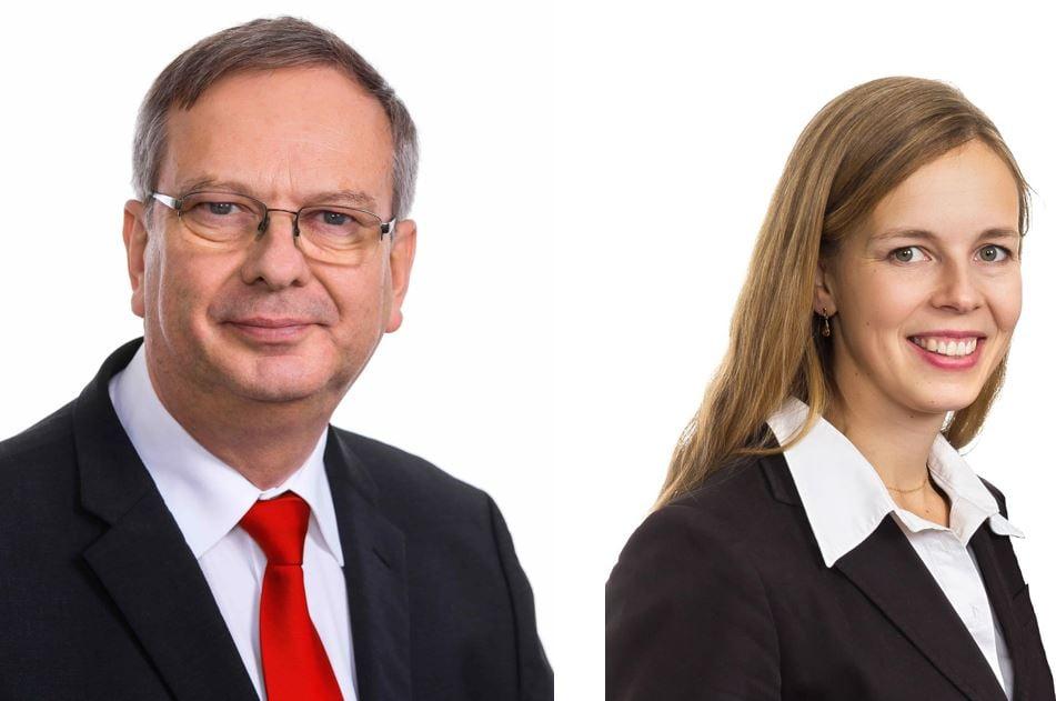 Hans Langh ja Laura Langh-Lagerlöf