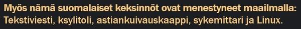 Myös nämä suomalaiset keksinnöt ovat menestyneet maailmalla_2