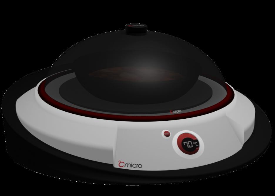 Patentoitu CMICRO® hälyttää, kun ruoka on sopivan lämmintä