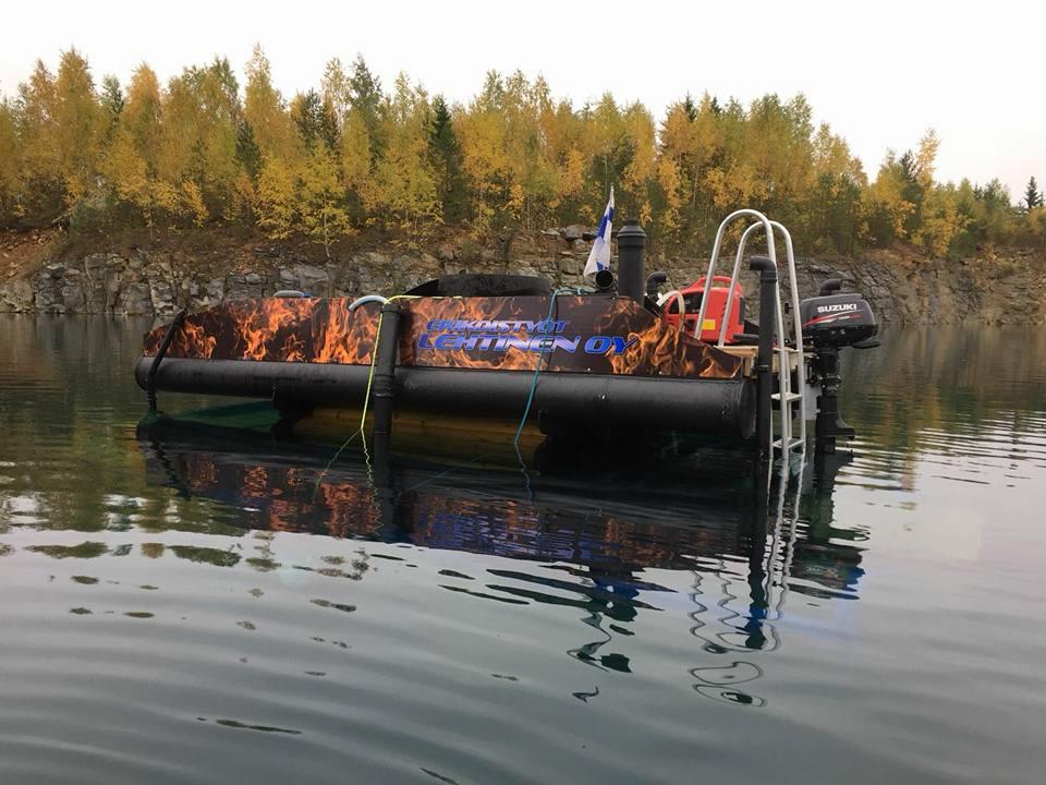 Sukellussaunan prototyyppi_Erikoistyöt Lehtinen
