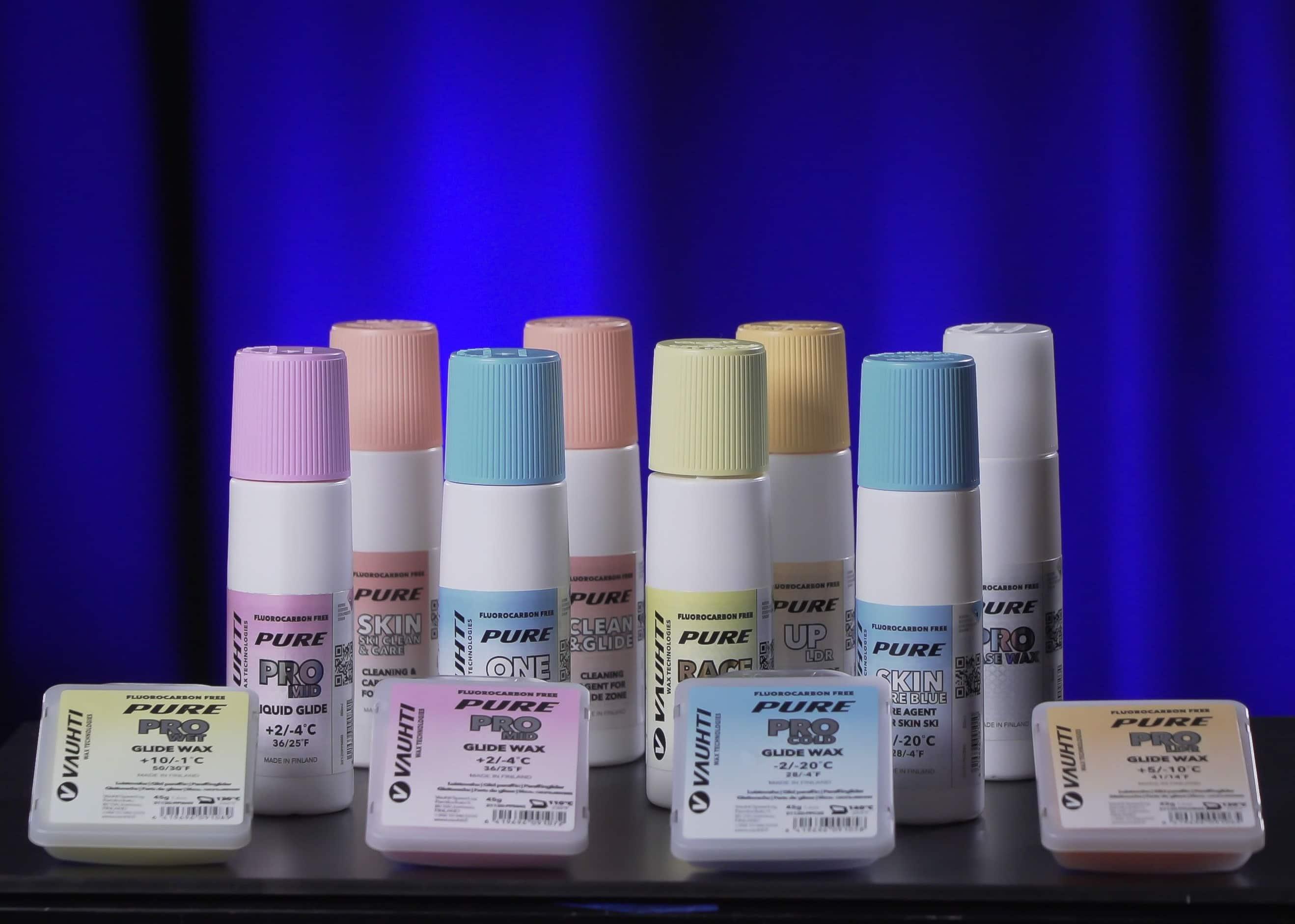 Vauhti Speed toi ensimmäiset fluorittomat suksivoiteet markkinoille – patenttihakemus vireillä