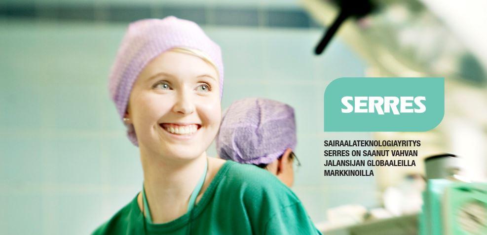 Sairaalateknologiayritys Serres on saanut vahvan jalansijan globaaleilla markkinoilla.jpg